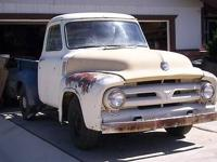 For Sale; 1952 ford 2 dr. sedan project with stock
