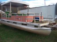 I have a 24' pontoon that is a project boat. I bought
