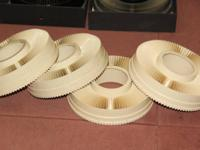 8 GAF Rototray Slide Trays (each hold 100 slides) 12