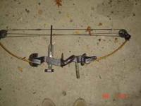 Proline bow, 50 pound draw? not sure stabilizer,