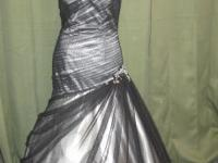 Beautiful Prom/Ball gown, worn once, paid over $300.00.