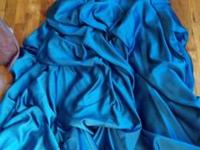Teal/blueish colored dress. In good condition, only