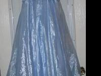 Beautiful Baby Blue Prom Dress $ 25.00 call or text