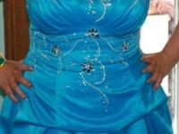I am selling my prom dress. It was only worn once and