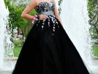 Beautiful prom dress - size 8. Night Moves brand. In