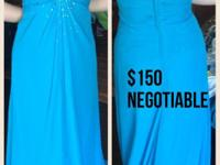 Selling my gently used prom dresses for $150 each or