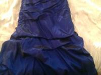 Bought heaven senior prom gown, size 9/10, for $120.