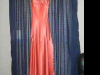 I have 3 prom dresses for sale. One Orange that was