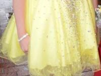 Terani Prom Dress for sale. Stunning beading and