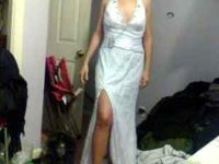 I am selling a white prom or wedding dress. This is a