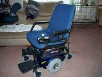 PRONTO M71 SURE STEP Power chair cost new $5125 . It