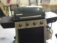 Brinkmann 4-Burner Gas Grill with a 12,000 BTU