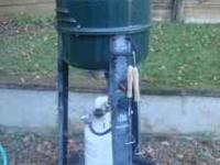 Small propane grill Well used and loved call  Location: