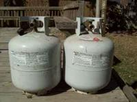I have 3 propane tanks which I will sell for $10 each