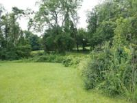 Rarely available, large building lot with no builder