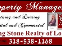 Looking for someone to market and lease your investment