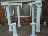Columns of various size - candle holders - various size