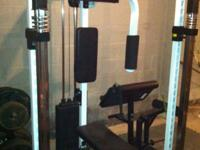 For sale, ProSmith Gym with butterfly attachment, arm