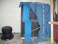 I have a 2 man clam ice fishing shanty for sale. Good