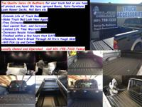 High quality Spray On Bed liners for your truck bed or
