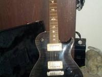 Single cut Paul Reed Smith guitar top ten flameing mom