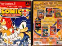PS/2 SEGA Sonic Mega Collection Greatest Hits Plus *