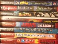 My son is selling all his PS2 video games asking price