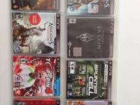 Perfect condition PS3 plus 8 awesome games, two