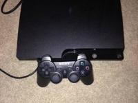 PS-3 Console with Blue Ray and Controller $160.00