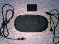 Playstation Vita with 4GB memory card, Fifa Soccer,