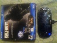 Selling my ps vita black ops bundle with 4gb memory