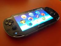 This listing is for my utilized Sony PlayStation Vita