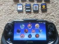 PS Vita Wifi system. Bought to have something to play