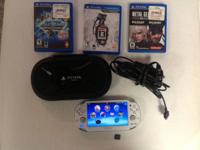 I have a PS Vita for sale. It's in great shape and