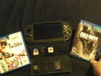 PS VITA $175. Features charging cord (not pictured