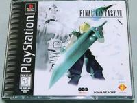 What's included:  PlayStation One Final Fantasy VII,