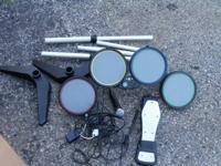 I have a drumset and microphone for PS2 with drumsticks