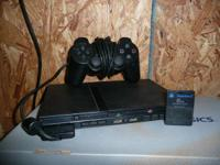 this ps2 system is in good working condition comes with
