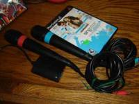 SINGSTAR POP PS2 GAME WITH TWO MICROPHONES CALL  OR
