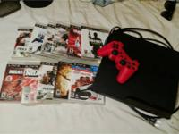 Ps3 in good conditions with 1 controller and 12 games!