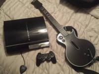 PS3 for sale. Just requires a power cord. I've had it
