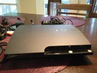 120GB PlayStation 3 with original box, 1 controller, 25