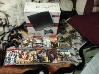 I have a 120Gb Playstation 3 for sale, like new