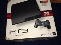 PS3 is in great condition,works great.. Comes with 2