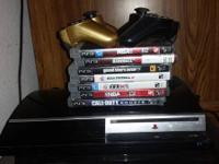 Ps3 for sale 40gb works good just don't play nomore if