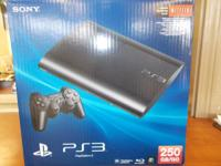 PS3  250GB Includes:    - PlayStation Move    - 2
