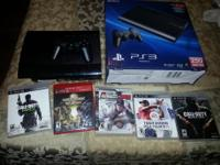 I am selling my playstation 3 (250 GB), I don't use it