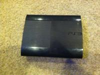 I have a PS3 Super Slim 250 GB PERFECT CONDITION!!