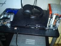 Got a 250 gb ps3 for sale with 3 controllers, gaming