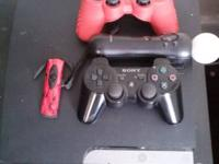 im selling my ps3 slim in great problem with all